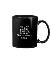 I'm Not Angry This Is just My Truck Driver Face Mug thumbnail