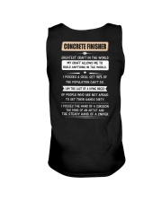 Concrete Greatest Craft In The World Unisex Tank thumbnail