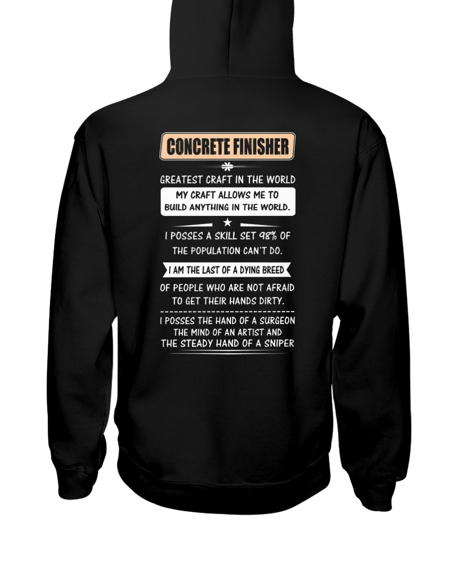 Concrete Greatest Craft In The World Hooded Sweatshirt