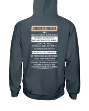 Concrete Greatest Craft In The World Hooded Sweatshirt back
