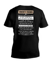 Concrete Greatest Craft In The World V-Neck T-Shirt thumbnail