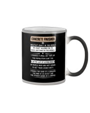 Concrete Greatest Craft In The World Color Changing Mug thumbnail