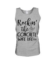 Rockin the Concrete Wife Unisex Tank thumbnail
