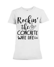 Rockin the Concrete Wife Premium Fit Ladies Tee thumbnail