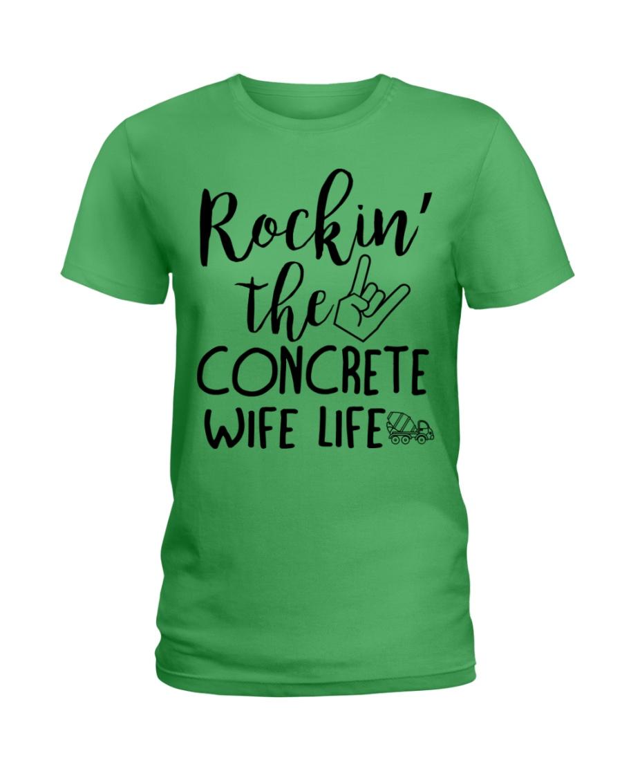 Rockin the Concrete Wife Ladies T-Shirt