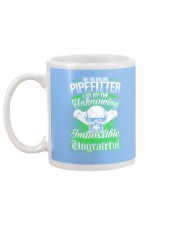 We the willing Pipefitter led by the unknowing Mug back