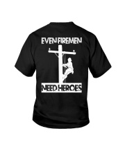 Even Firemen Need Heroes Youth T-Shirt thumbnail