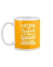 I Have A Freaking Awesome Pipefitter Mug back