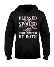 Blessed by God Spoiled By My Concrete Finisher Hooded Sweatshirt thumbnail