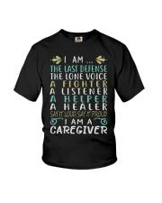 i am a caregiver Youth T-Shirt thumbnail