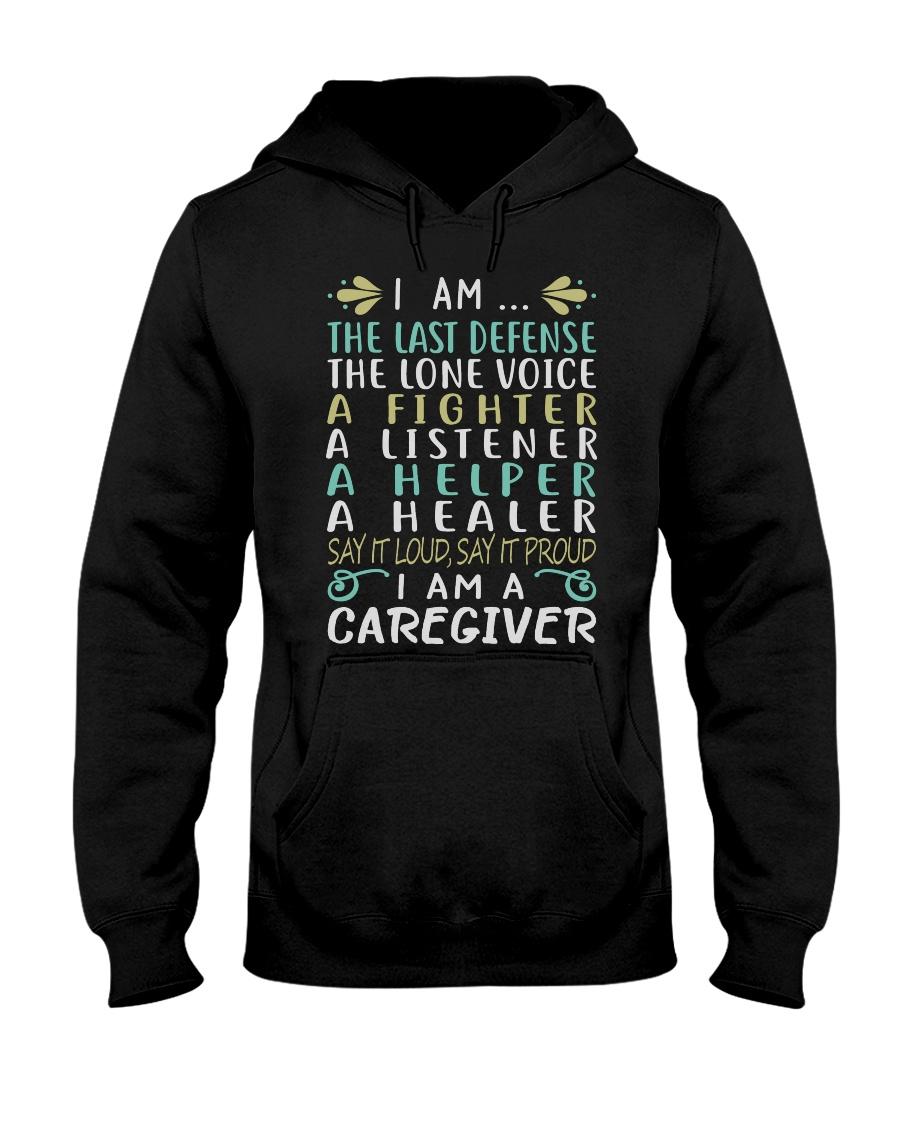 i am a caregiver Hooded Sweatshirt