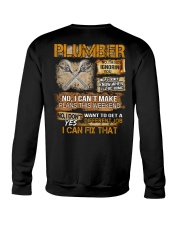 Plumber I Can Fix That Crewneck Sweatshirt thumbnail