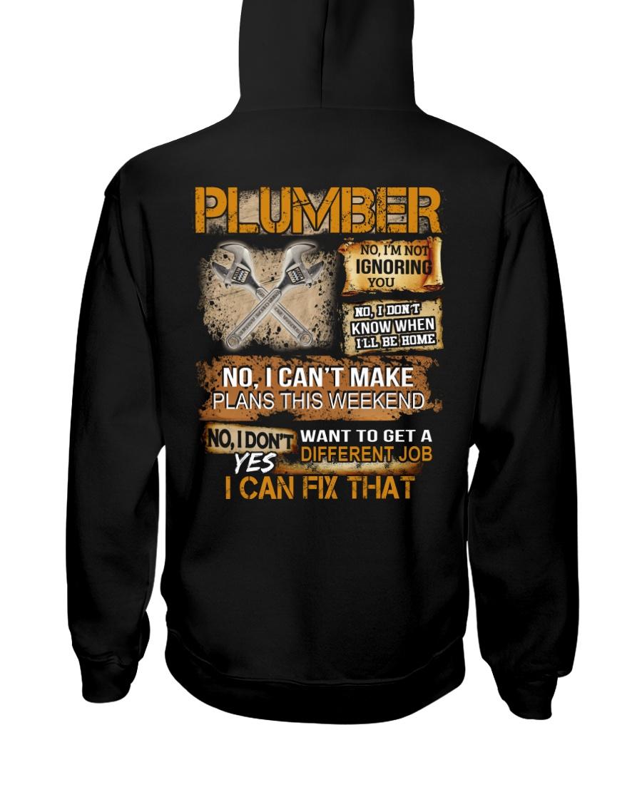 Plumber I Can Fix That Hooded Sweatshirt