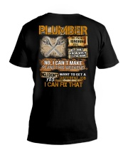 Plumber I Can Fix That V-Neck T-Shirt thumbnail