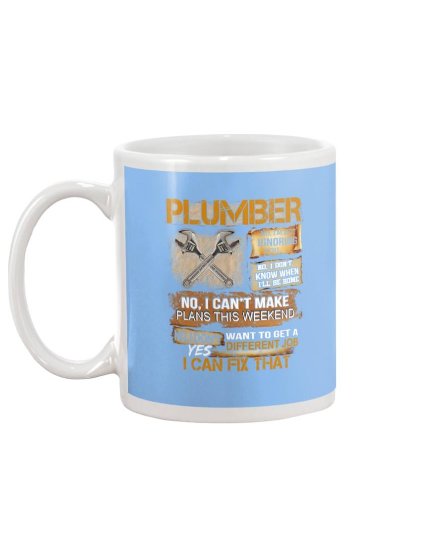 Plumber I Can Fix That Mug