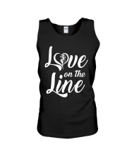 Love on the Line Unisex Tank thumbnail