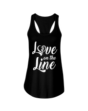 Love on the Line Ladies Flowy Tank thumbnail
