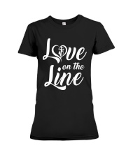 Love on the Line Premium Fit Ladies Tee thumbnail