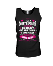 I am A Court Reporter Of Course Unisex Tank thumbnail