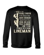 Love my Lineman 2020 Crewneck Sweatshirt thumbnail