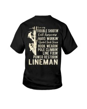 Love my Lineman 2020 Youth T-Shirt thumbnail