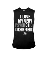 I Love My Very Psychotic Concrete Finisher Sleeveless Tee thumbnail