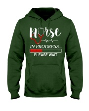 Nurse In Progress Please Wait Hooded Sweatshirt front