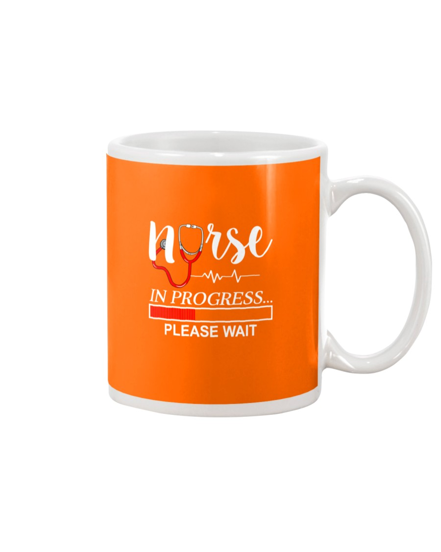 Nurse In Progress Please Wait Mug