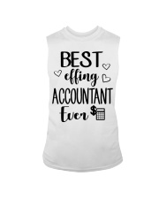 Best Effing Accountant Ever Sleeveless Tee thumbnail