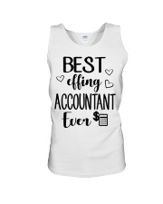 Best Effing Accountant Ever Unisex Tank thumbnail