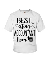 Best Effing Accountant Ever Youth T-Shirt thumbnail
