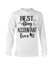 Best Effing Accountant Ever Long Sleeve Tee thumbnail