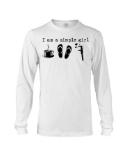 I am a simple girl Long Sleeve Tee thumbnail
