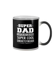 Super Dad Super Husband Super Cool Concrete  Color Changing Mug thumbnail