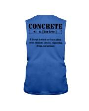 LIMITED CONCRETE FINISHER SHIRT Sleeveless Tee thumbnail