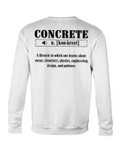 LIMITED CONCRETE FINISHER SHIRT Crewneck Sweatshirt thumbnail