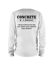 LIMITED CONCRETE FINISHER SHIRT Long Sleeve Tee thumbnail