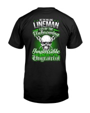 We the willing Lineman led by the unknowing Classic T-Shirt thumbnail