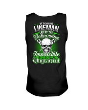 We the willing Lineman led by the unknowing Unisex Tank thumbnail