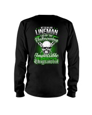 We the willing Lineman led by the unknowing Long Sleeve Tee thumbnail