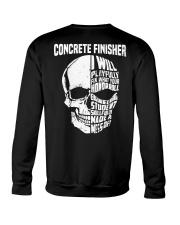 Concrete Finisher Skull Crewneck Sweatshirt thumbnail
