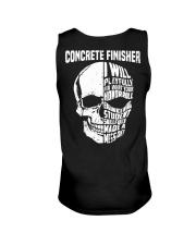 Concrete Finisher Skull Unisex Tank thumbnail