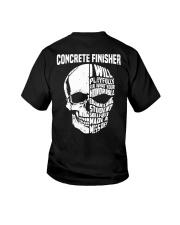 Concrete Finisher Skull Youth T-Shirt thumbnail