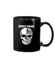 Concrete Finisher Skull Mug thumbnail