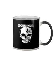 Concrete Finisher Skull Color Changing Mug thumbnail