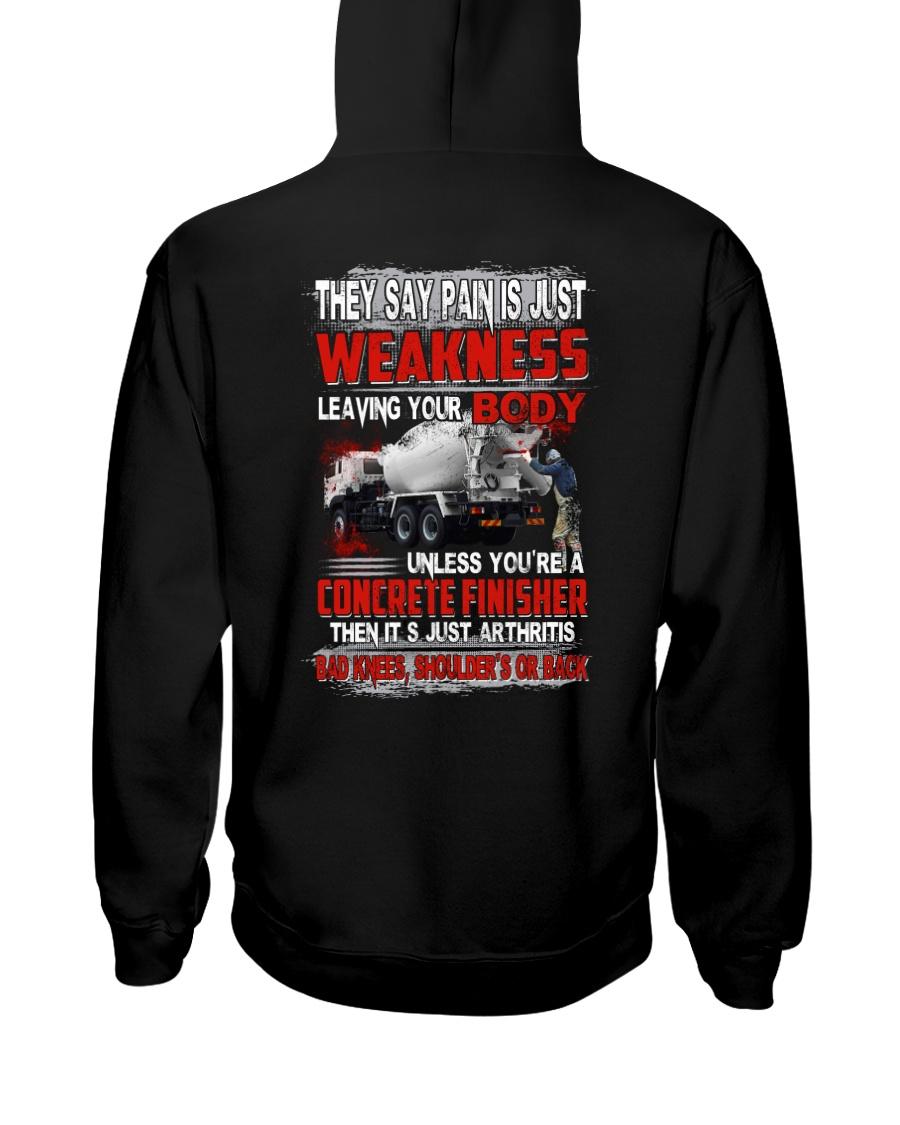Concrete Weakness Hooded Sweatshirt