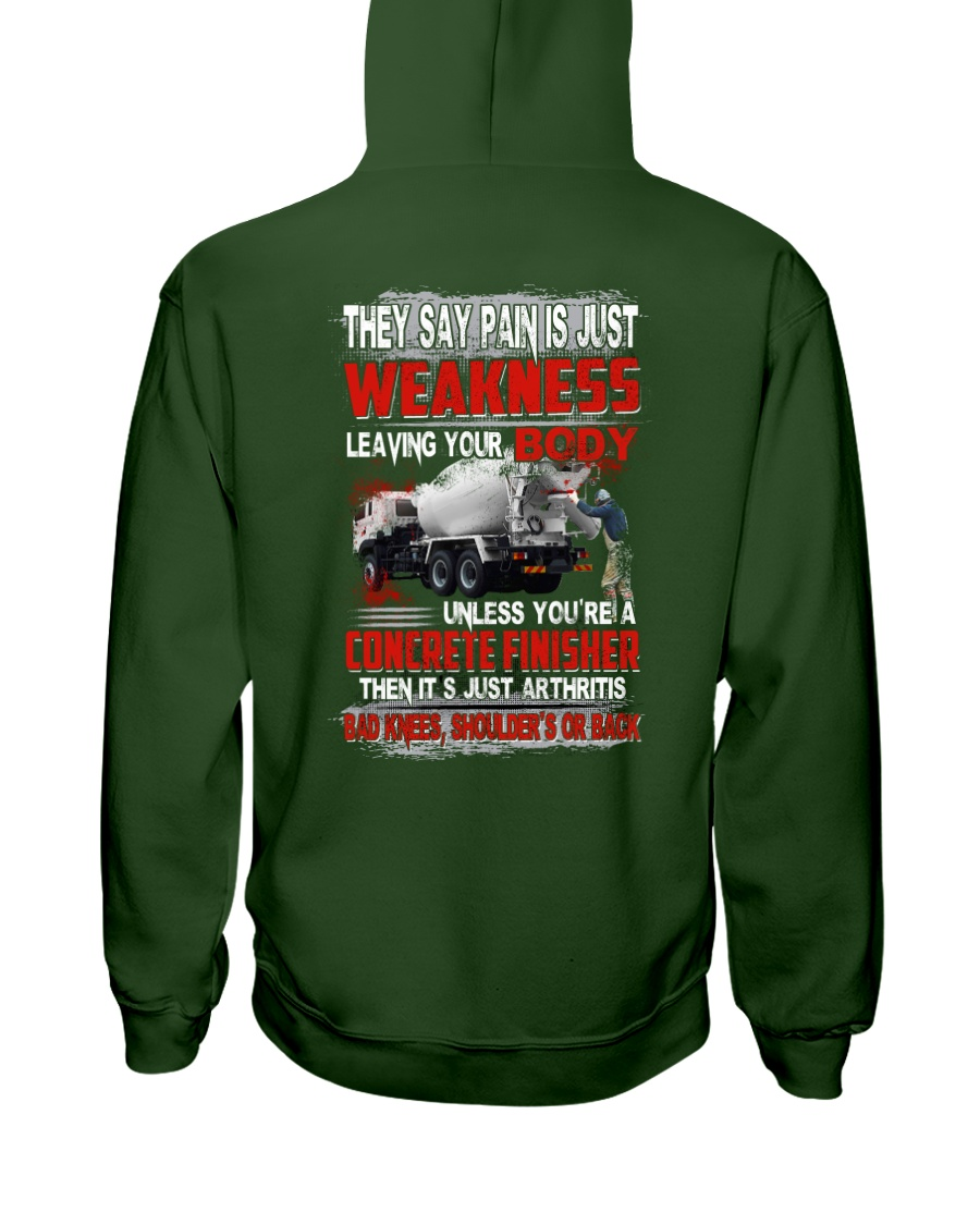 Concrete Weakness Hooded Sweatshirt
