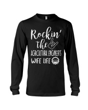 Rockin' the Agricultural Engineer Wife Life Long Sleeve Tee thumbnail