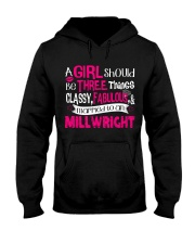 Millwright Gril Hooded Sweatshirt front