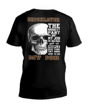 Bricklayer The Hardest Part Of My Job V-Neck T-Shirt thumbnail